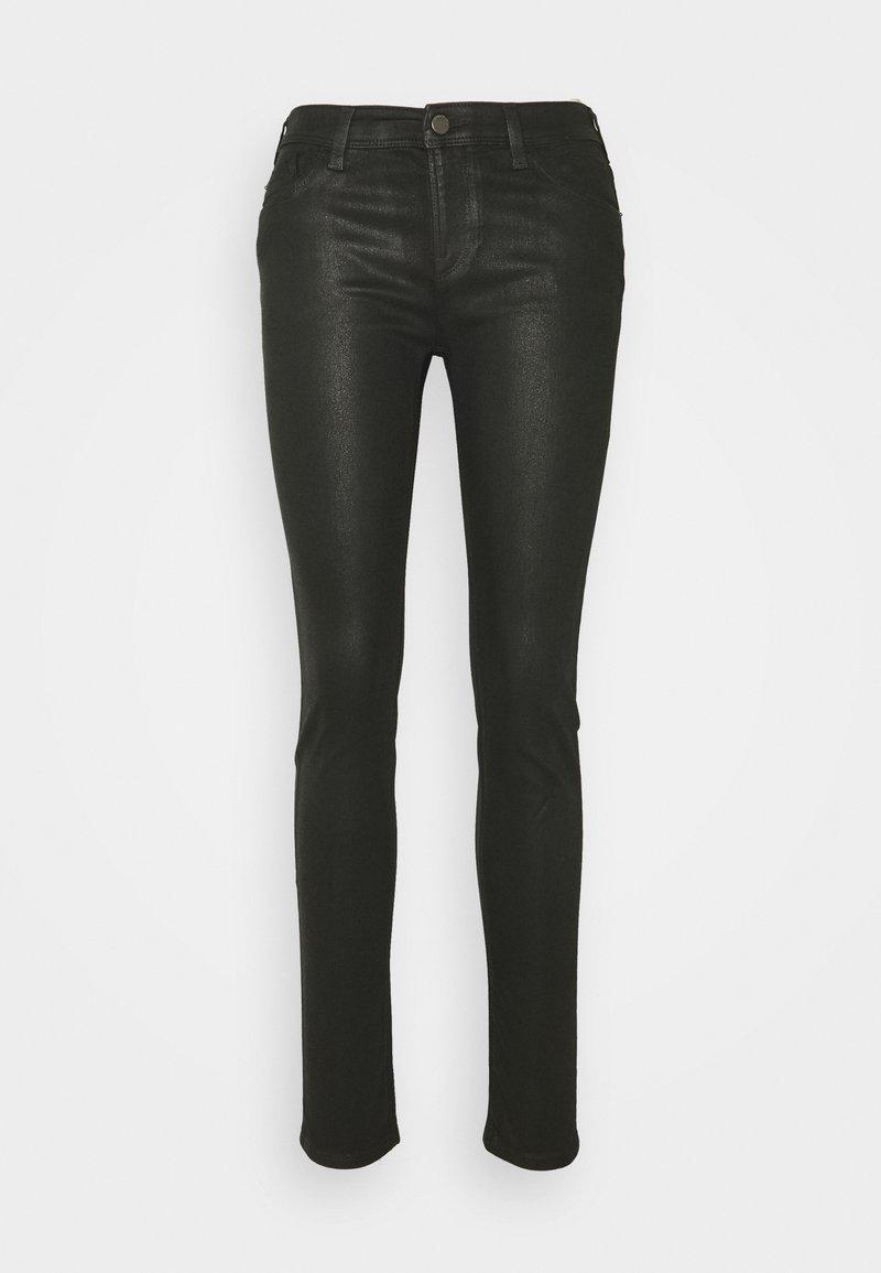 Emporio Armani - POCKETS PANT - Jeans Skinny Fit - denim nero