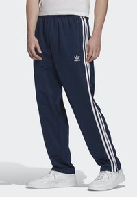 adidas Originals - FIREBIRD TRACKSUIT BOTTOMS - Träningsbyxor - blue - 0