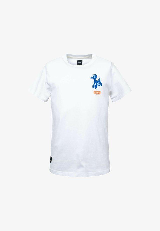 DOG  - T-shirt imprimé - white