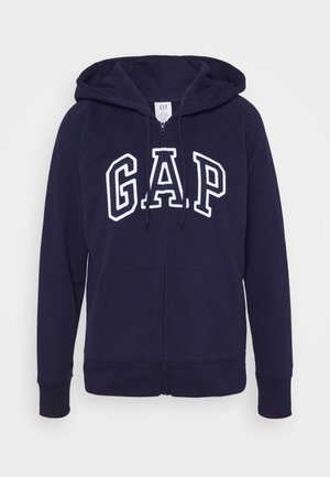 Zip-up hoodie - navy uniform