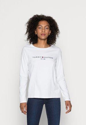 TEE - Long sleeved top - white