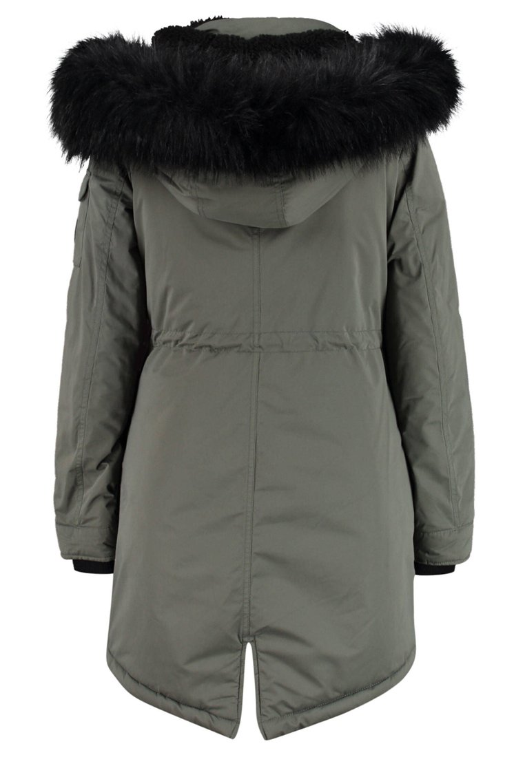 Superdry DAMEN Vinterkåpe frakk dark grey Zalando.no