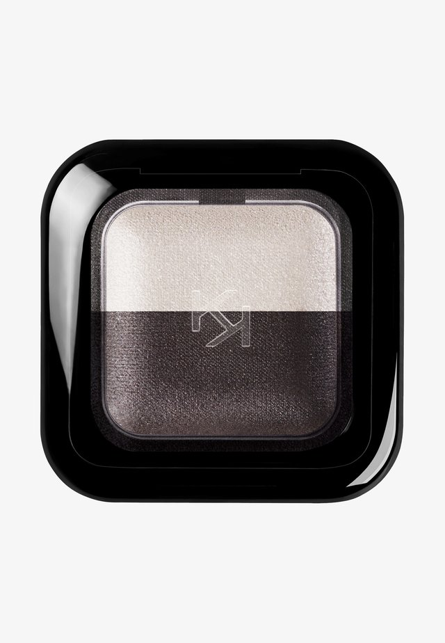 BRIGHT DUO BAKED EYESHADOW - Ombretto - 22 pearly white/satin graphite