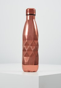 TYPO - DRINK BOTTLE LASER 500ML - Other accessories - rose gold-coloured faceted - 2