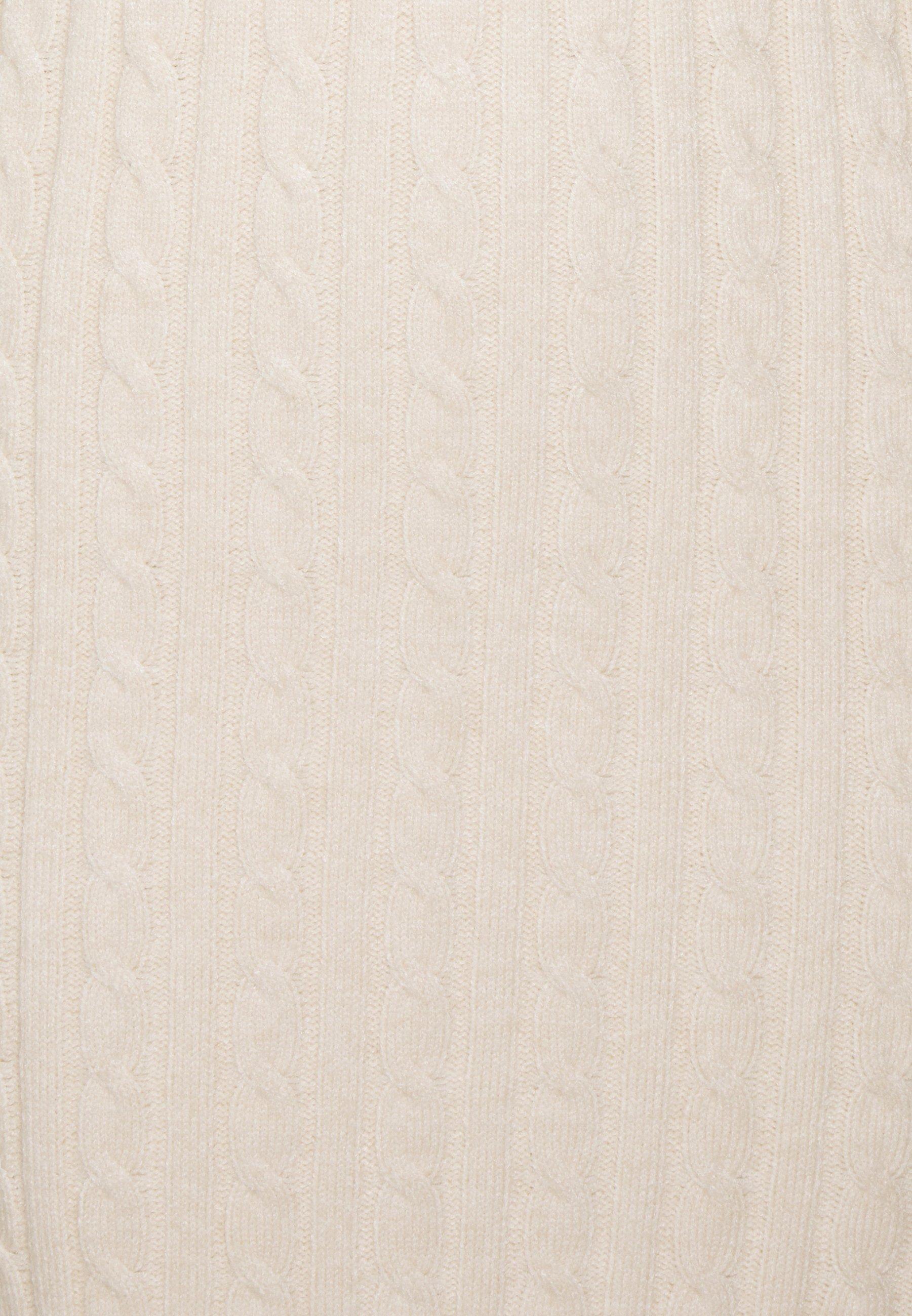 Fashion Union Tall TEL Stickad klänning cream Zalando.se