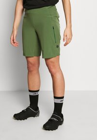 Patagonia - TYROLLEAN BIKE SHORTS - kurze Sporthose - camp green - 0