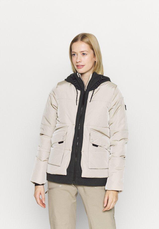 AZURITE JACKET - Snowboard jacket - chateau gray
