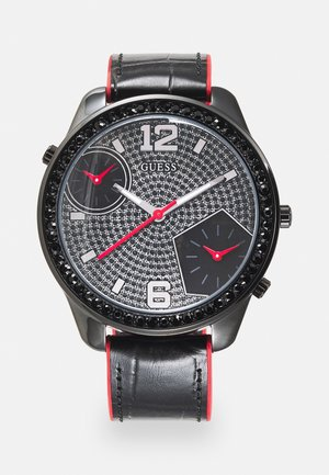 Klocka - black/red