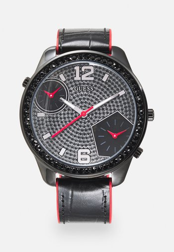 Horloge - black/red