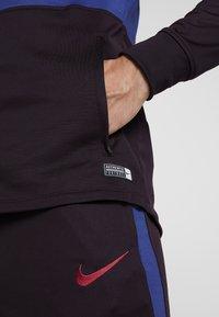 Nike Performance - FC BARCELONA DRY SUIT - Klubbkläder - burgundy ash/deep royal blue/noble red - 6