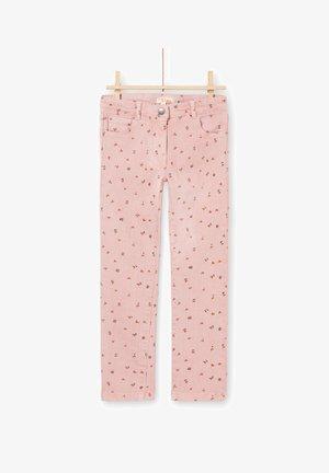 PANTS - Straight leg jeans - pink