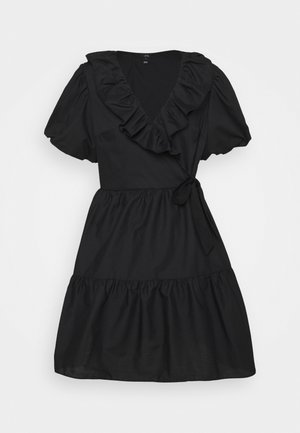 GABRIELLE DRESS - Denní šaty - black