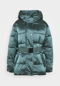 DKNY - BELTED PUFFER - Training jacket - blue - 4