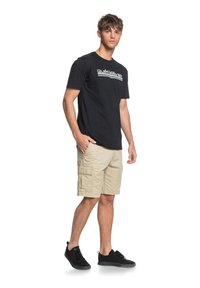 Quiksilver - HEADWIND  - Print T-shirt - black - 1