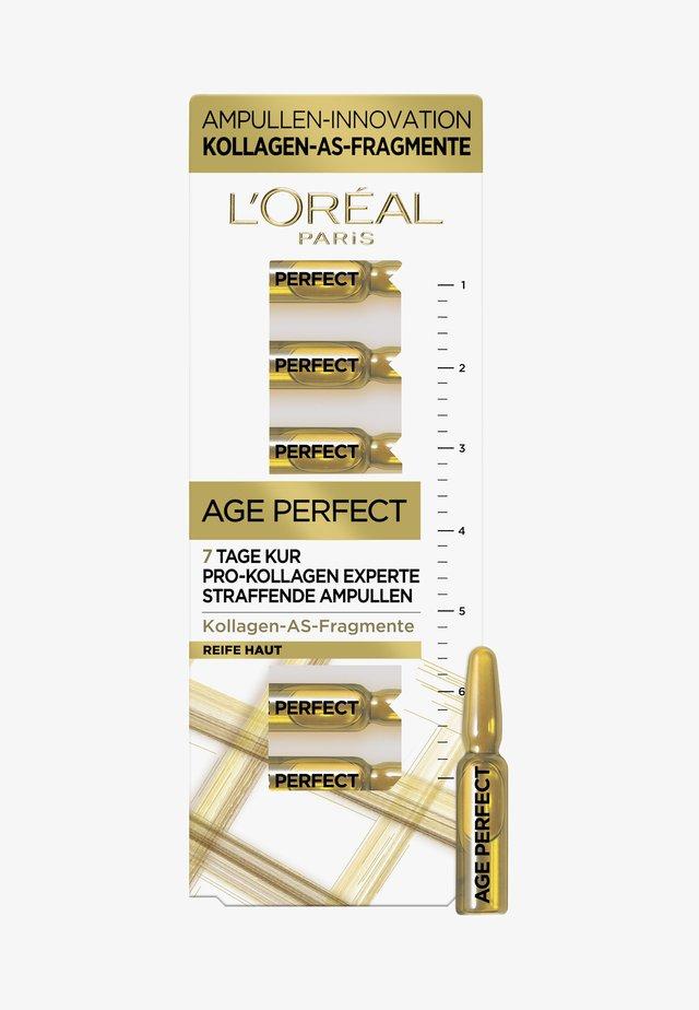 AGE PERFECT SERUM AMPULLES 7 DAYS - Kit skincare - -