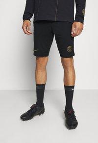 Nike Performance - PARIS ST GERMAIN SHORT - Korte sportsbukser - black/truly gold - 0
