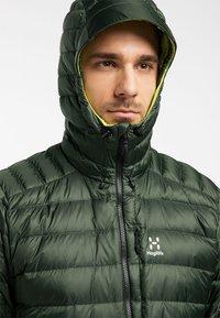 Haglöfs - ROC DOWN HOOD - Down jacket - fjell green - 3