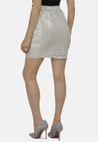 myMo at night - Mini skirt - weiss - 2