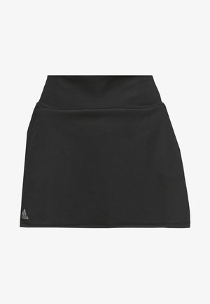CLUB SKIRT - Falda de deporte - black/silver/white