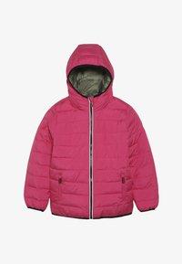 Superdry - REVERSIBLE FUJI - Zimní bunda - highlight pink - 3