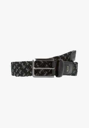 STYLE  - Cintura intrecciata - anthracite