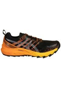 ASICS - Trail running shoes - black / sheet rock - 6
