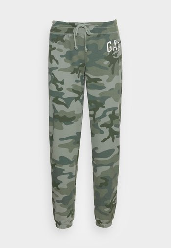 FASH  - Spodnie treningowe - green camo