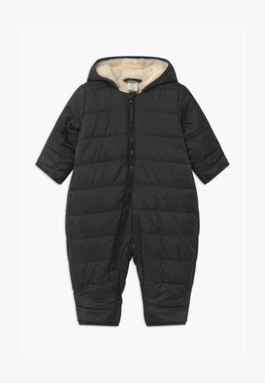 PADDED UNISEX - Snowsuit - off black