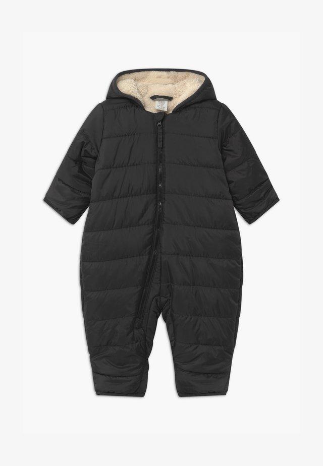 PADDED UNISEX - Snowsuit - off black