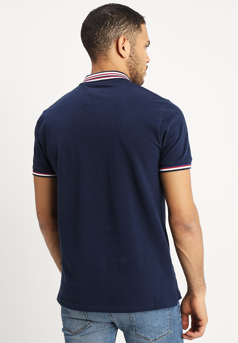 Fast Express Get Online Men's Clothing Schott HANREY Polo shirt navy NAnn1Sa8D QC7d4Yhcr