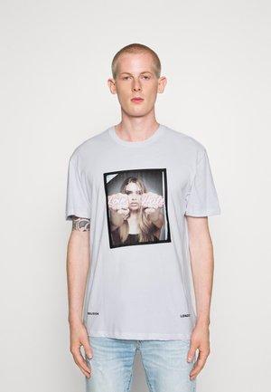 LOVE HATE TEE - T-shirt print - white
