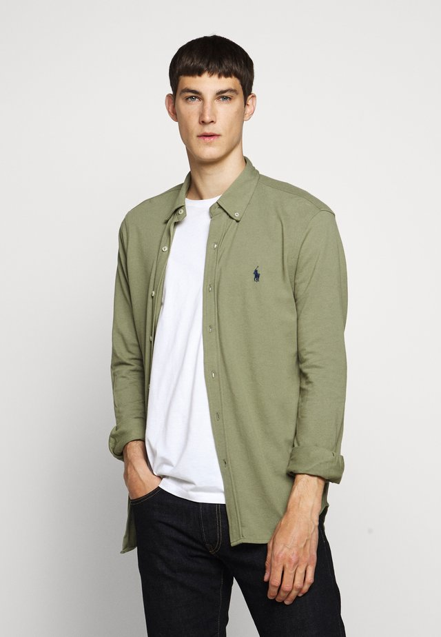 Shirt - sage green