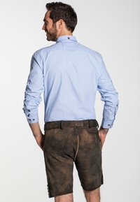 Spieth & Wensky - GOMEZ  - Leather trousers - brown - 1