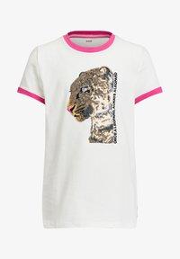 WE Fashion - T-shirts print - white - 2