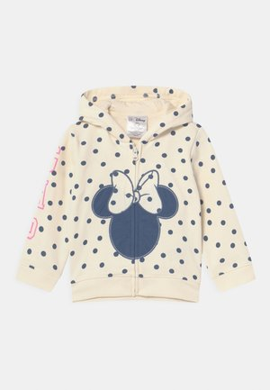 HOOD MINNIE MOUSE DISNEY - veste en sweat zippée - ivory frost