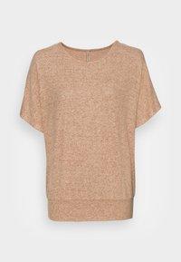 Soyaconcept - SC-BIARA 70 - Print T-shirt - sand melange - 3