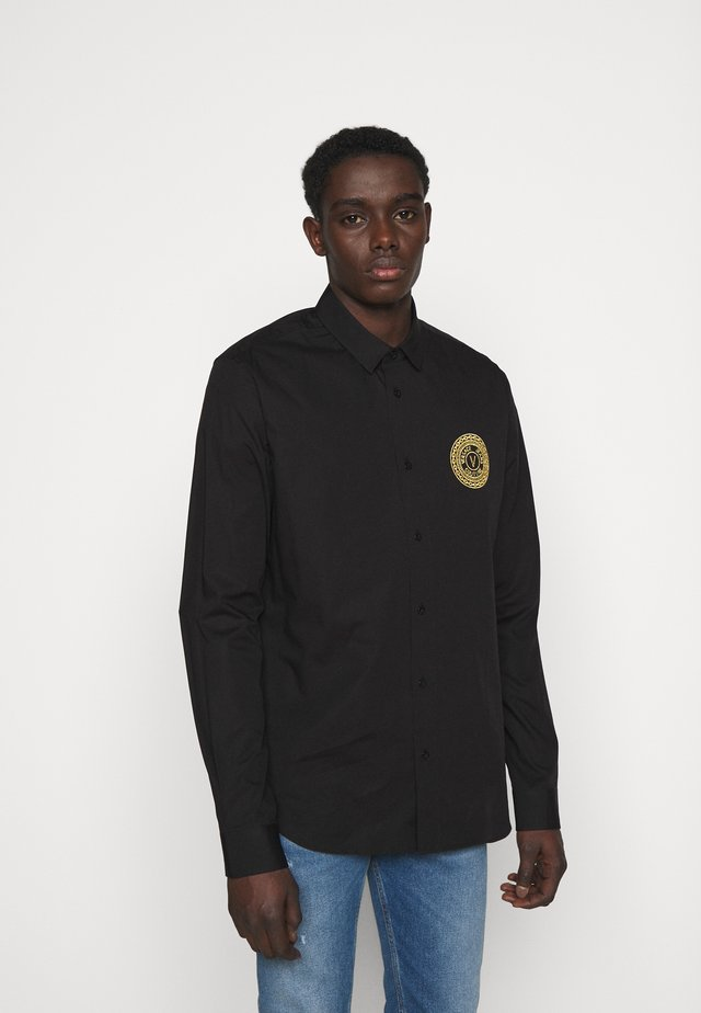BASIC STRETCH SOFTER  - Shirt - black