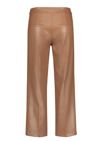 Gerry Weber - Leather trousers - toffee - 4