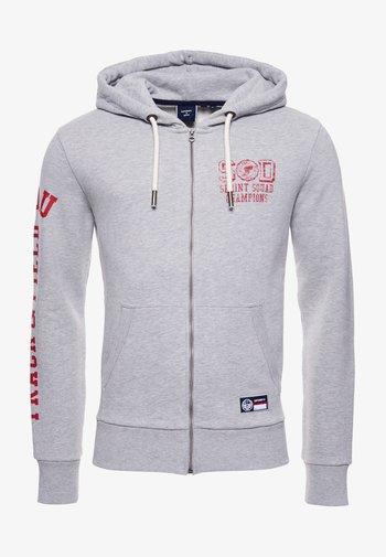 TRACK & FIELD  - Zip-up sweatshirt - grey marl