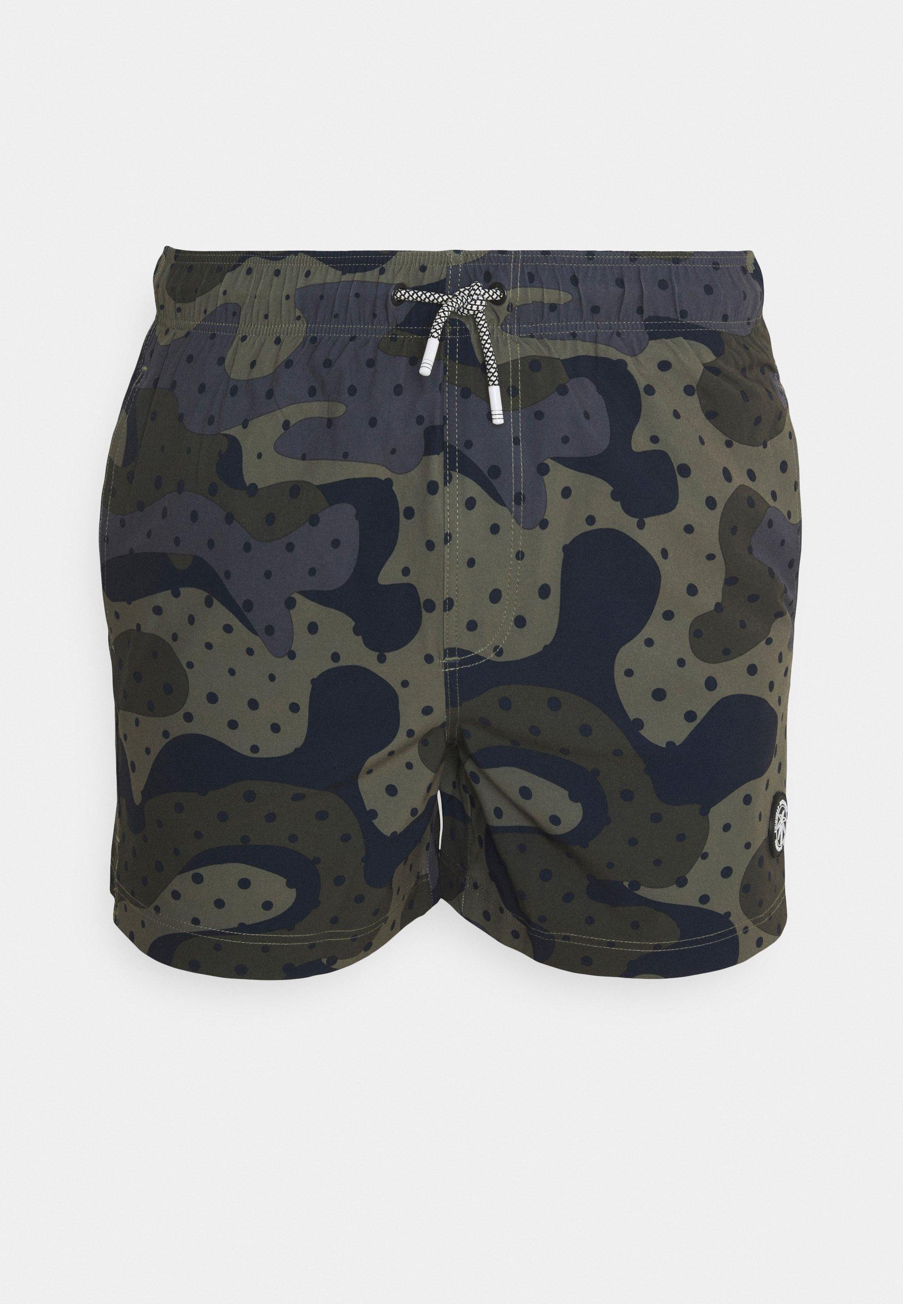 Men JJIMAUI JJSWIM PRINT - Swimming shorts