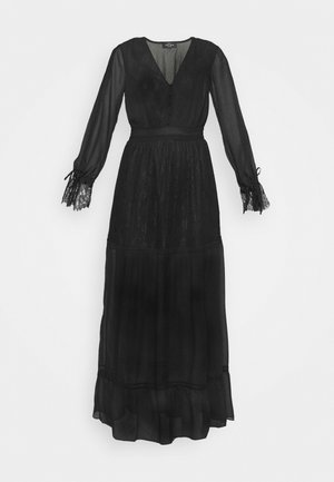 FLORA DRESS - Vestido largo - black