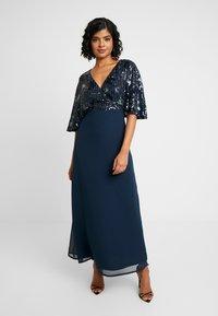 Lace & Beads - ALEXA MAXI - Společenské šaty - navy - 0