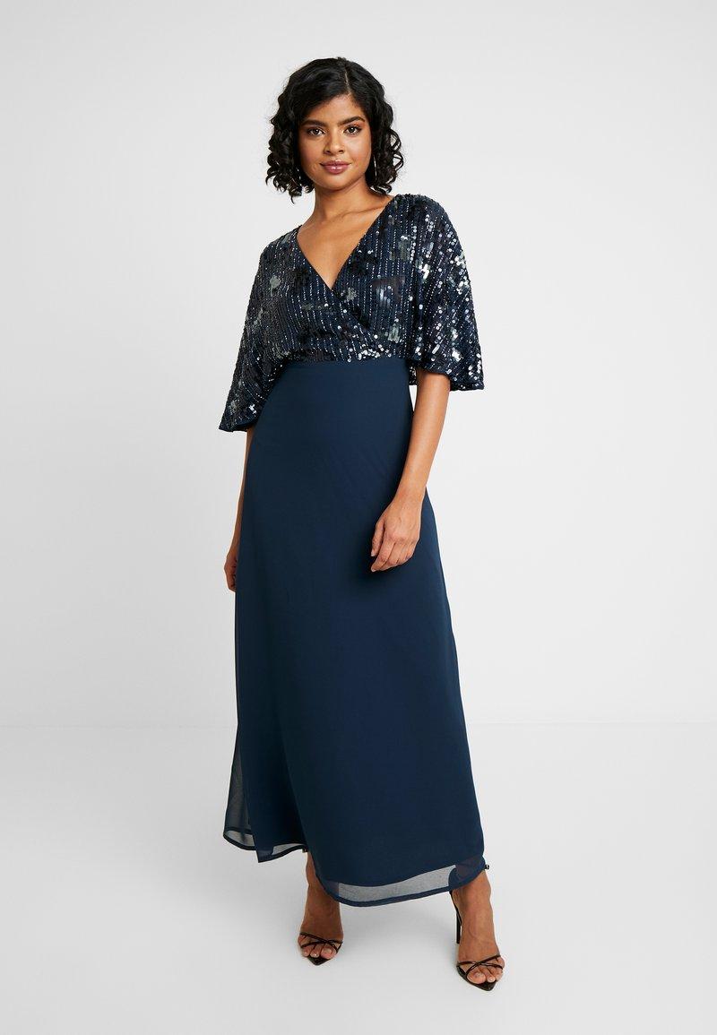 Lace & Beads - ALEXA MAXI - Společenské šaty - navy