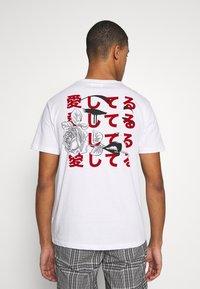 YOURTURN - UNISEX - T-shirt imprimé - white - 0