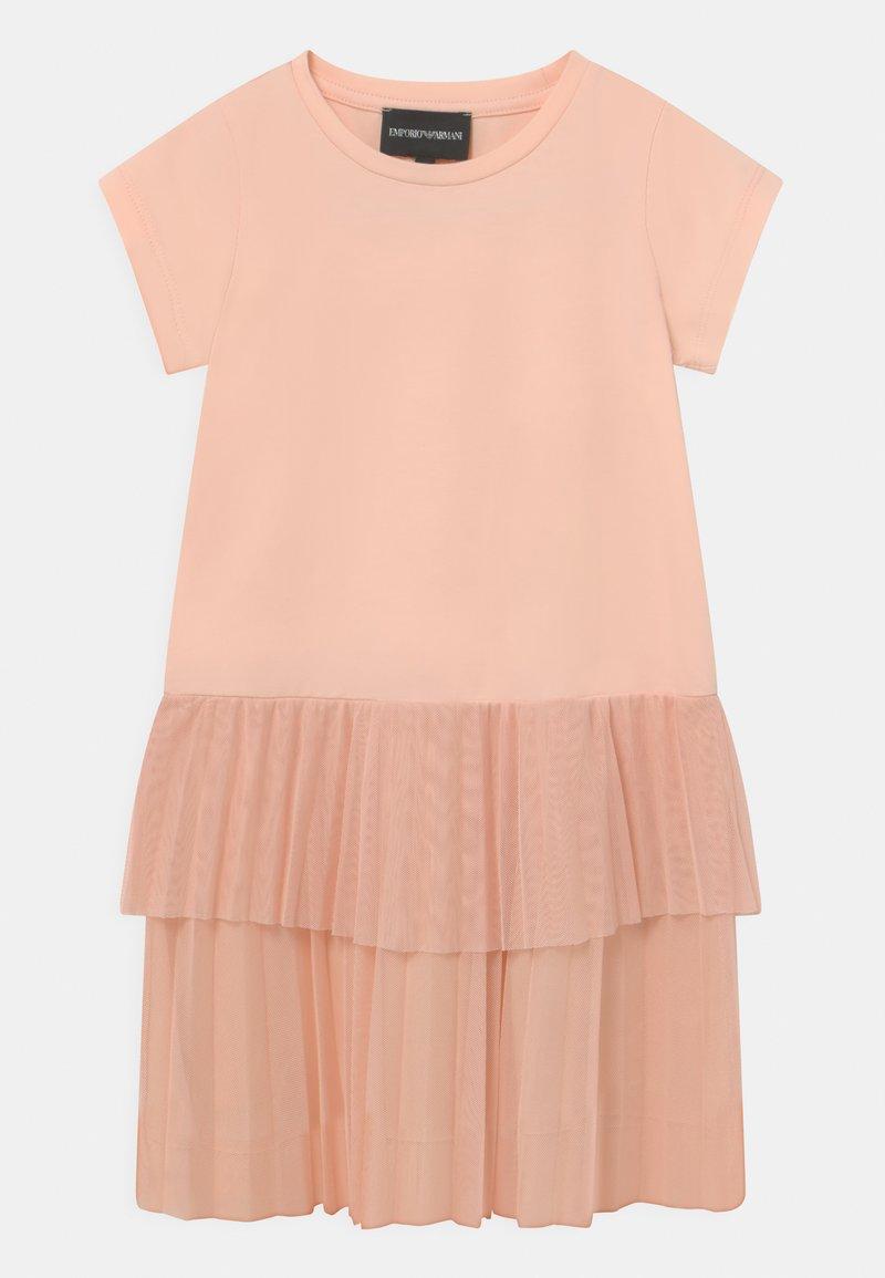Emporio Armani - Jersey dress - light pink