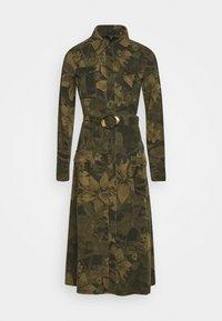 Desigual - VEST MONTSE - Robe d'été - verde militar - 4