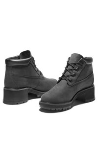 Timberland - KINSLEY WP NELLIE - Lace-up ankle boots - black nubuck - 4