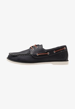 SEABURY CLASSIC 2EYE - Boat shoes - navy