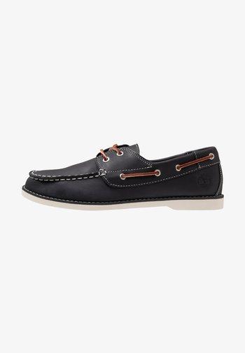 SEABURY CLASSIC 2EYE - Boat shoes - navy