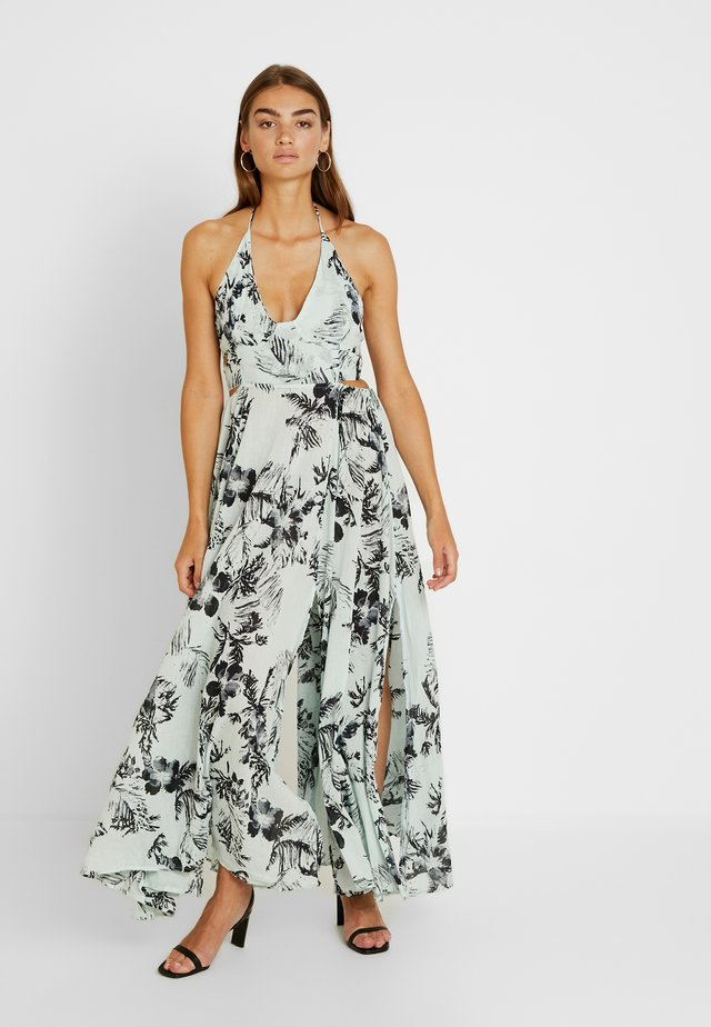 LILLE PRINTED - Maxi dress - blue